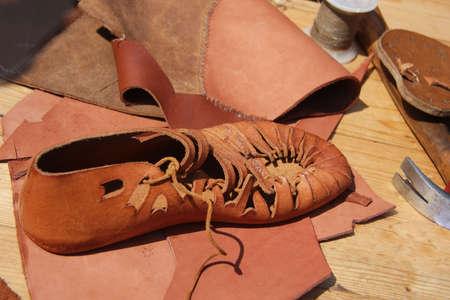 craftwork: hand made shoe