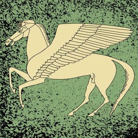Pegasus -winged horse Vector