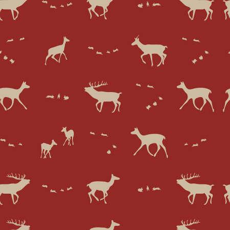 seasonal repeating  pattern, vector illustration Stock Vector - 5310152