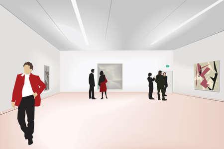 exhibition of art Stock Vector - 6131951