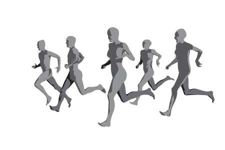people running Vector