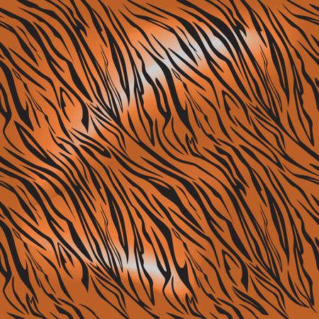 stripes seamless: tiger fur motif repeating pattern