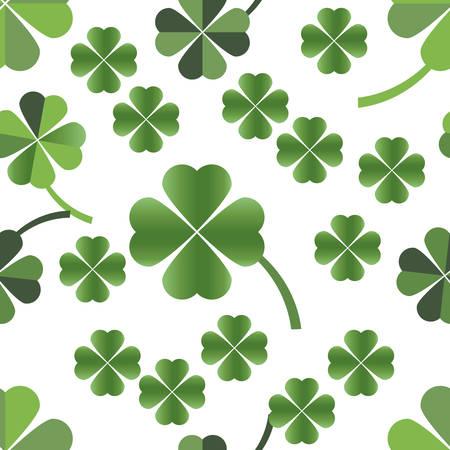 four leafed clover:  Patr�n transparente de tr�bol de cuatro hojas
