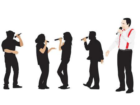 singers and conferencier