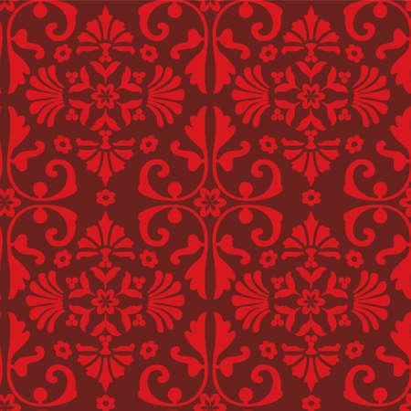 antique: seamless baroque pattern