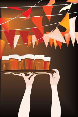 alcoholismo: Partido de cerveza de viernes por la noche