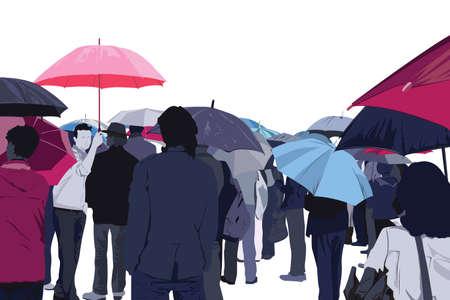 rainy day: rainy day Illustration