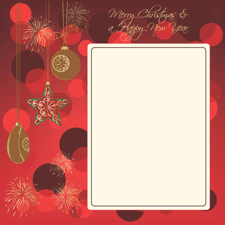 Christmas background Stock Vector - 8407196