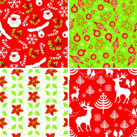 to continue: Conjunto de muestras de tejido de Navidad