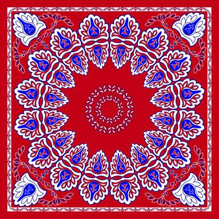 bandana: Classic bandana head scarf design