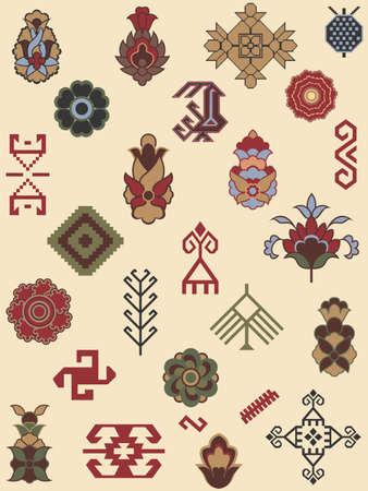 カーペット パターンのコレクション