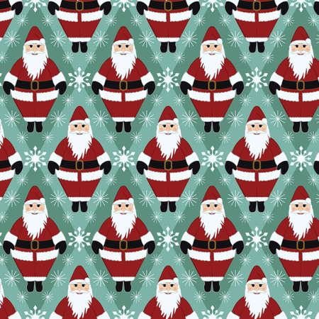 Christmas Santa Gift Wrapping Paper
