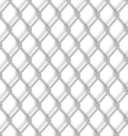 metal net: Valla de alambre.