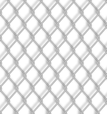 Wire fence.  Vector