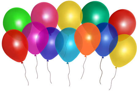 ballon: :    Balloons frame composition with space for your text. Vector illustration.