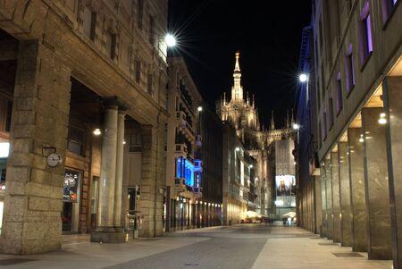 Milan Italy Corso Vittorio Emanuele photo
