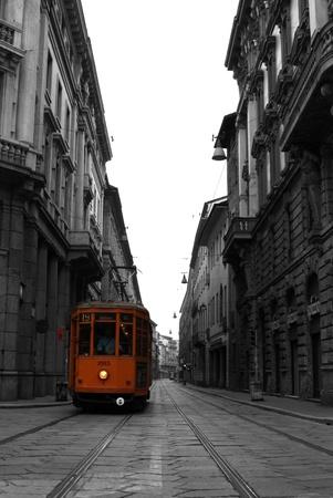 mil�n: Tranv�a en Mil�n Italia