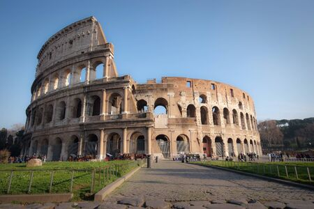 Rome Colosseum photo