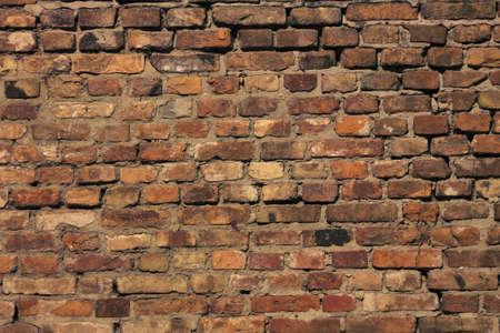 Detalle de las paredes de ladrillo de la antigua Foto de archivo - 8695280