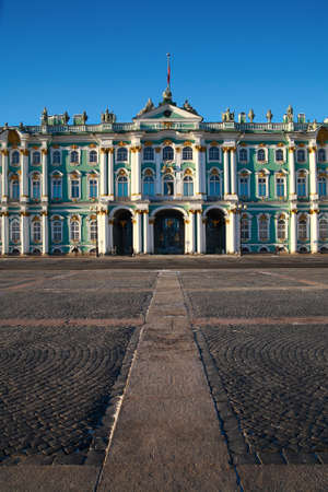 showplace: St. Petersburg, Winter Palace, historical showplace Editorial