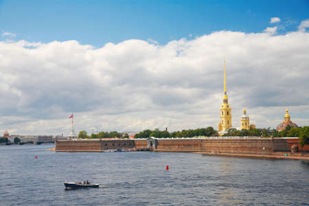 st  petersburg: St. Petersburg, view of the Peter and Paul Fortress