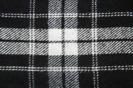 woolen cloth: Woolen cloth, black with white stripes