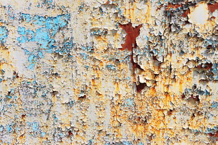 Rusted surface close-up, corrosion of metal 版權商用圖片