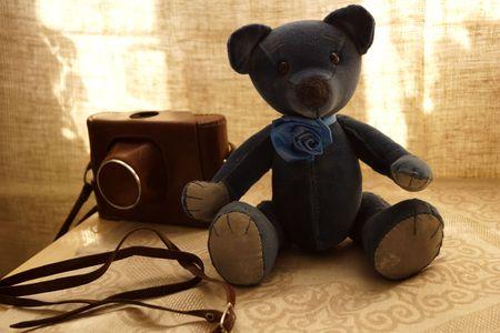 osos de peluche: Teddy Bears Retro Foto de archivo