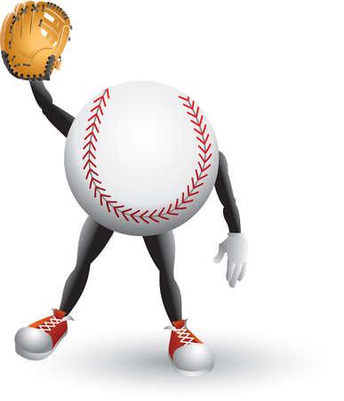漫画野球男 写真素材 - 5045559