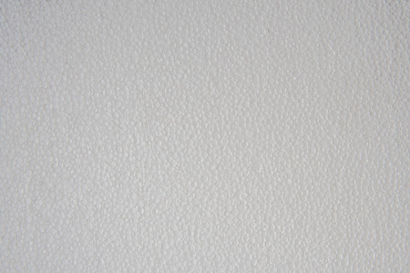 Decorative white foam board texture. Abstract background.