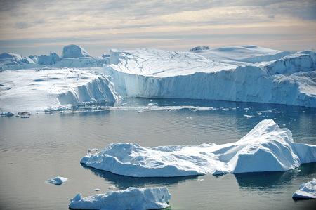 Gletsjer smelten in Noorwegen