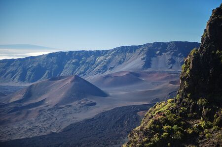 Mountains and volcanoes in Hawaii