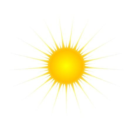 cartoon sun: Sol de dibujos animados Vectores