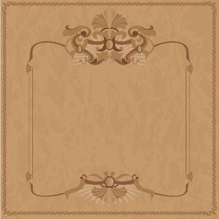 old frames: Vintage frame