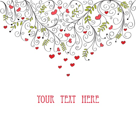 drawing heart: Saint-Valentin Conception