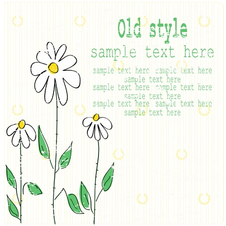 Old Style Background Stock Vector - 10601505
