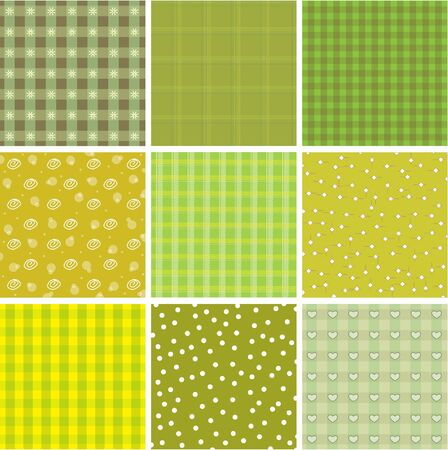 Patchwork background Stock Vector - 10541033