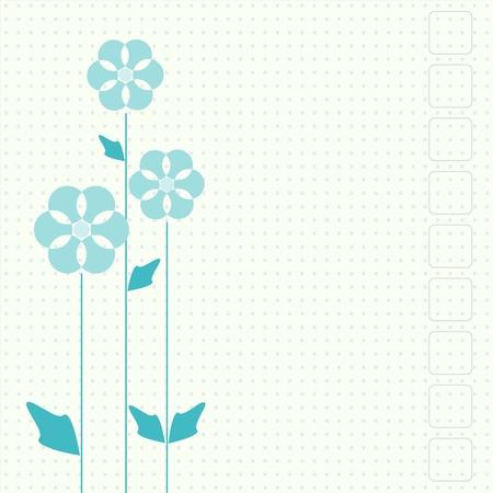 garden party: Vector flowers