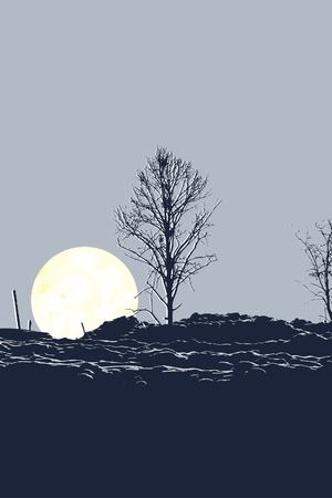 scots: Tree and Moon