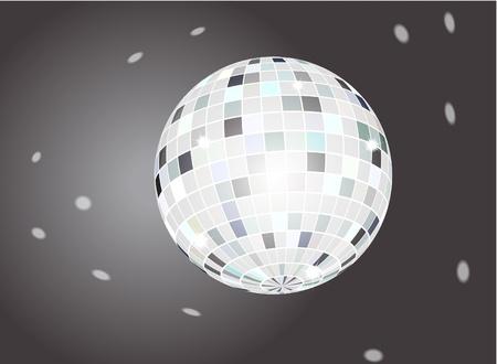 square dancing: Disco ball Illustration
