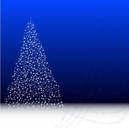 Xmas tree background Stock Vector - 10553594
