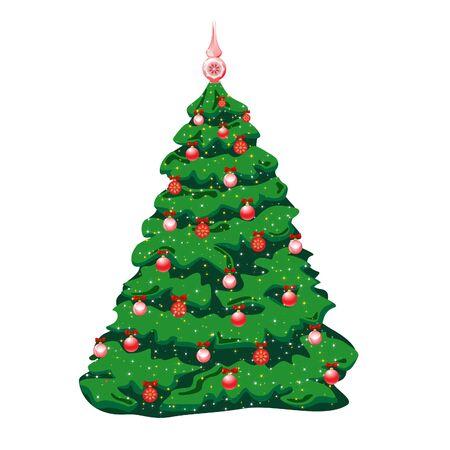 Xmas tree Stock Vector - 10585282