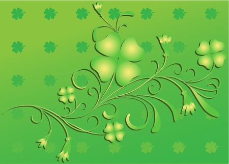 Clover backgrouond Vector