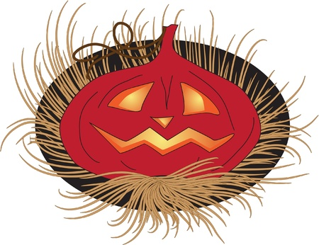luminescence: Halloween Pumpkin Illustration