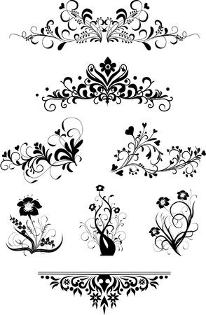 Vintage patterns for design Stock Vector - 10814028