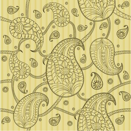 magnificence: Paisley pattern, seamless Illustration