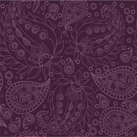 paisley pattern: Motif paisley, sans soudure