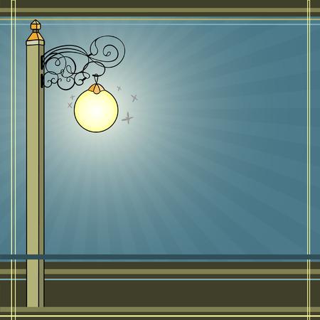 lampposts: Lantern