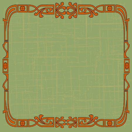 Background like art nouveau Vector