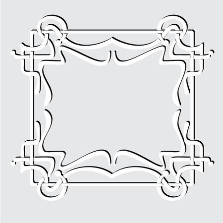Frame like Art Nouveau